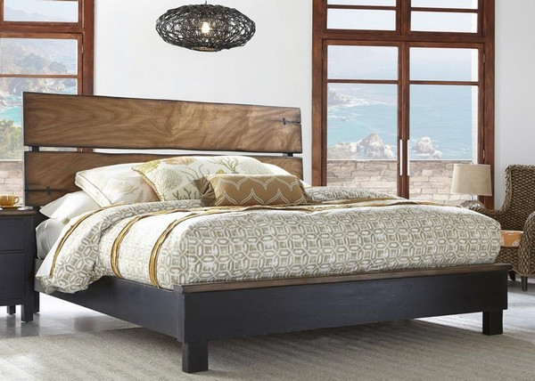 Big Sur King Panel Bed 120-260C By Palmetto
