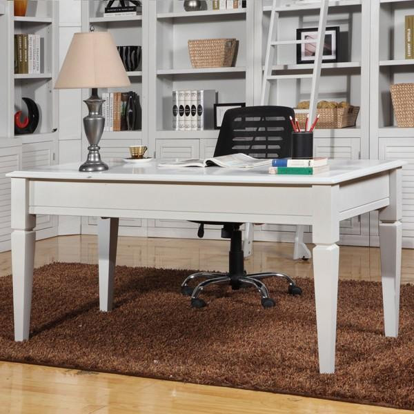 BOC-485 Parker House Boca White Writing Desk