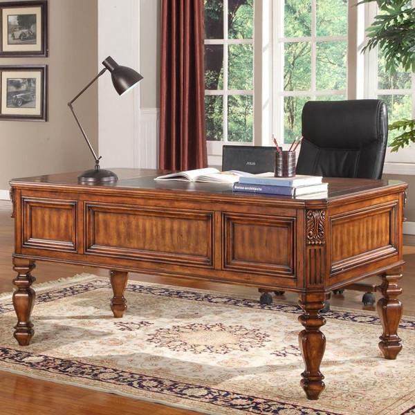 GGRA-9085 Parker House Grand Manor Granada Walnut Writing Desk