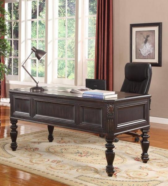 GPAL-9085 Parker House Grand Manor Palazzo Black Writing Desk