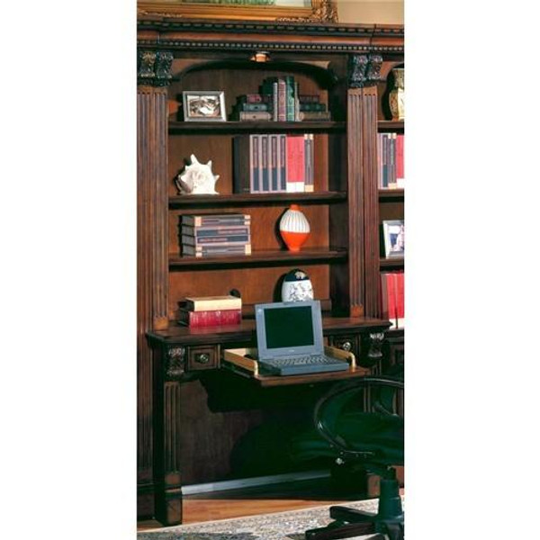 HUN-460-2 Parker House Huntington 2 Piece Library Desk In Pecan Finish