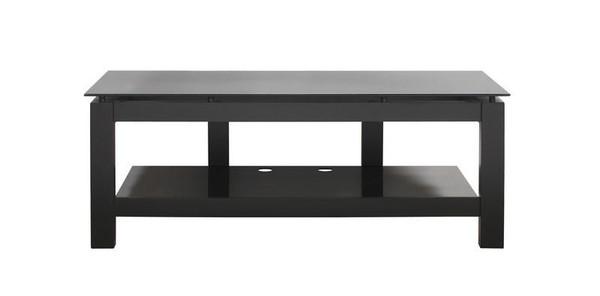 SL2V Plateau Wood And Glass Tv Stand