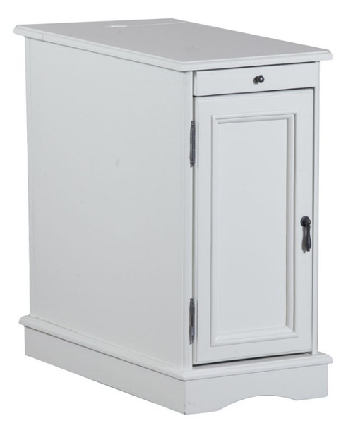 Powell Butler White Accent Table 15A2017WA