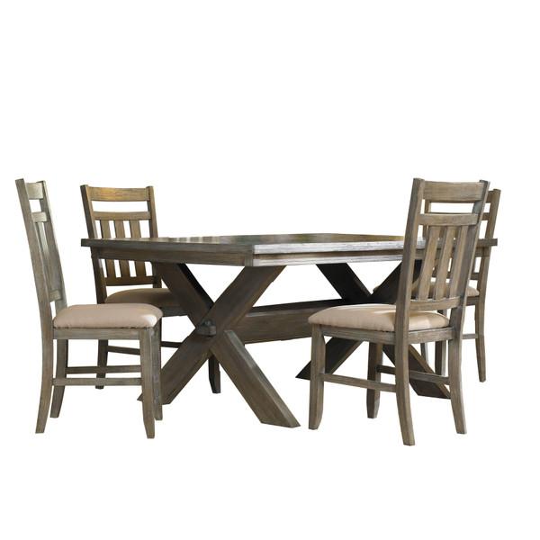 Turino 5 Piece Dining Set 457-417M1 by Powell