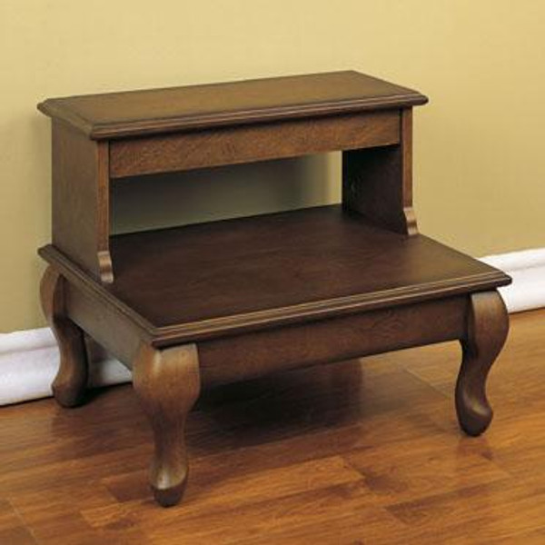 Attic Cherry Bed Steps With Drawer 961-535 by Powell