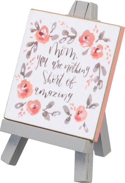 Mini Easel - Nothing Short - Set Of 4 (Pack Of 2) 100176 By Primitives By Kathy