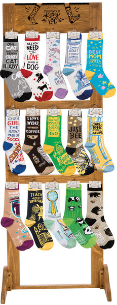 100330 Socks - Kathy'S 15 Picks By Primitives by Kathy