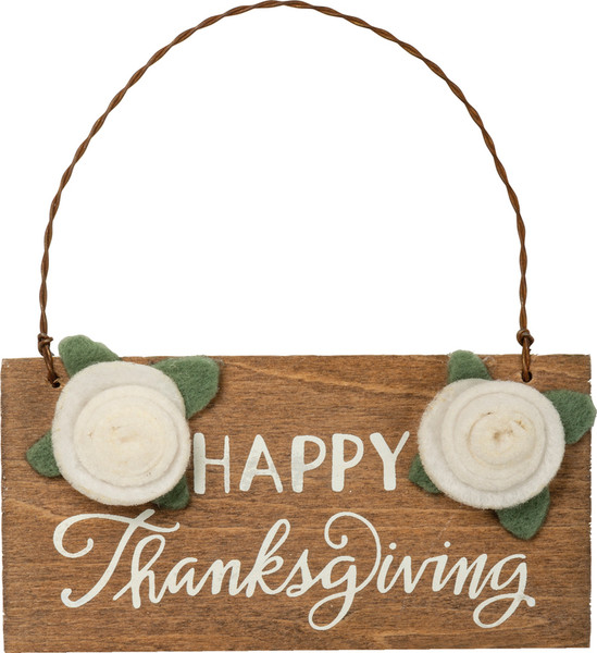 Holiday Ornament - Thanksgiving - Set Of 6 (Pack Of 3) 100665 By Primitives By Kathy