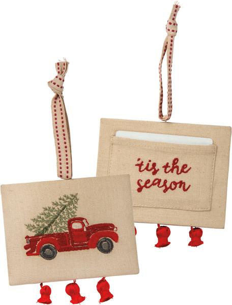 101329 Xmas Ornament - 'Tis The Season - Set Of 6 By Primitives by Kathy