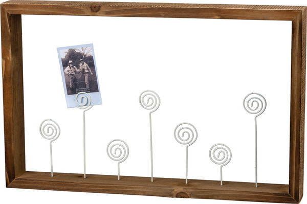 101568 Photo Frame - Wire Swirls - Set Of 2 By Primitives by Kathy