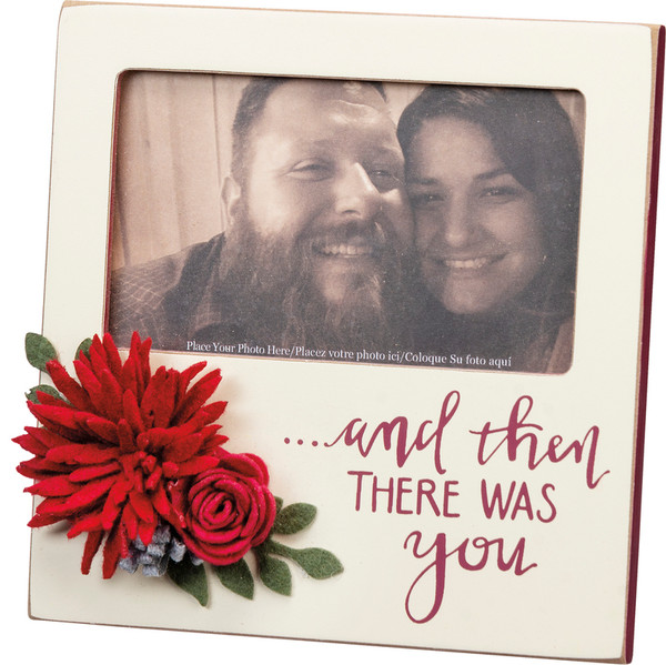 101708 Plaque Frame - There Was You - Set Of 4 By Primitives by Kathy