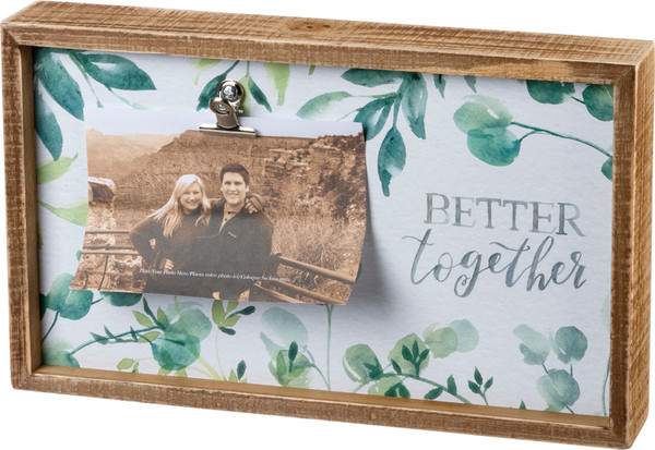 101786 Inset Frame - Better Together - Set Of 2 By Primitives by Kathy