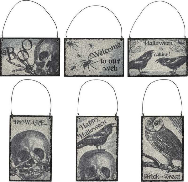 101885 Holiday Ornament Set - Halloween - Set Of 4 By Primitives by Kathy