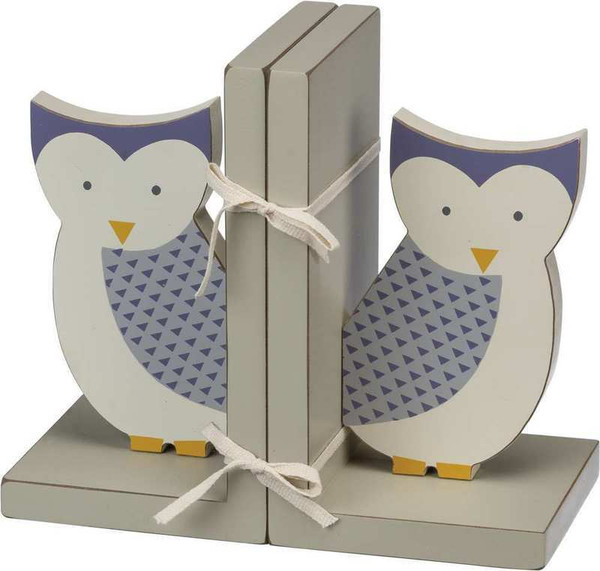 101922 Bookends - Owl - Set Of 2 By Primitives by Kathy