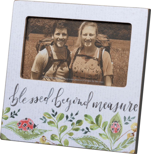 Plaque Frame - Blessed - Set Of 4 (Pack Of 2) 102236 By Primitives By Kathy