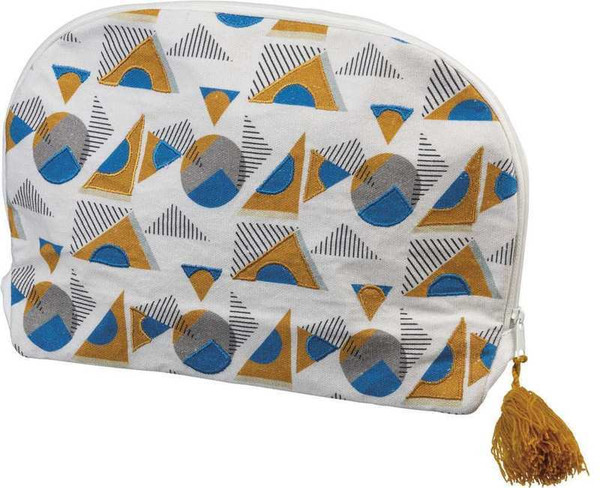 102461 Zipper Pouch - Geometric - Set Of 4 By Primitives by Kathy