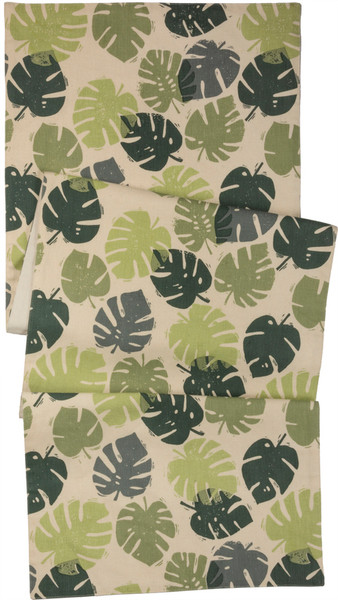 102676 Runner - Monstera Leaf - Set Of 2 By Primitives by Kathy