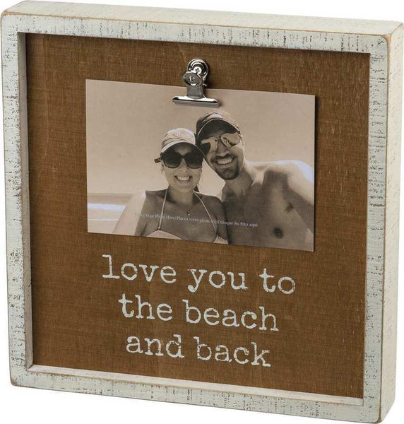 102955 Inset Box Frame - Love You - Set Of 2 By Primitives by Kathy