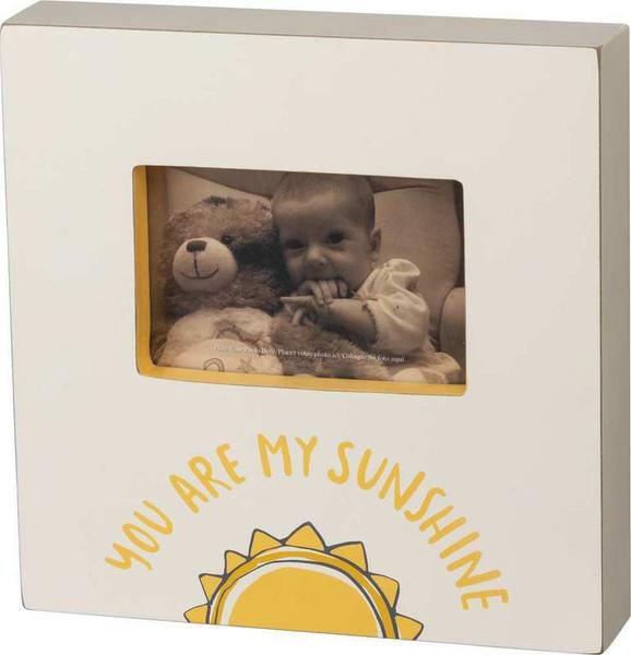 103217 Box Frame - My Sunshine - Set Of 2 By Primitives by Kathy