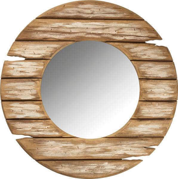 103304 Mirror - Distressed Frame By Primitives by Kathy