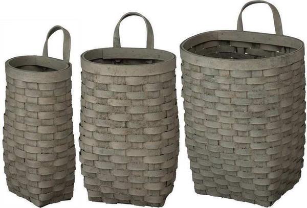 103362 Basket Set - Nested By Primitives by Kathy