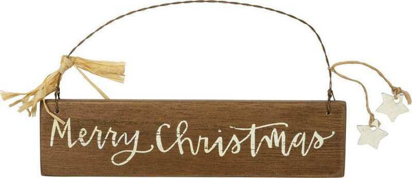 103416 Slat Xmas Ornament - Christmas - Set Of 12 By Primitives by Kathy