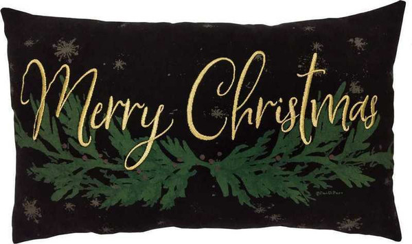 103742 Pillow - Merry Christmas - Set Of 2 By Primitives by Kathy