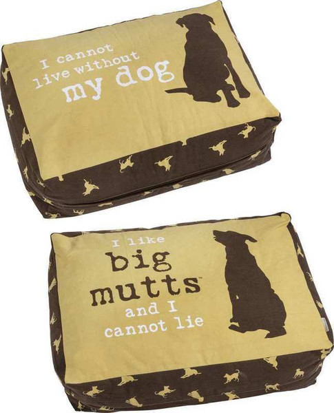 103898 Large Dog Bed - Big Mutts By Primitives by Kathy