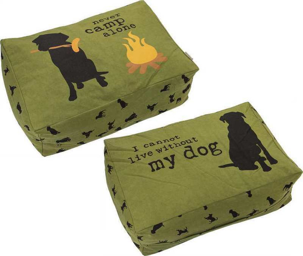 103913 Large Dog Bed - Camp By Primitives by Kathy