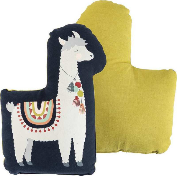Shaped Pillow - Llama - Set Of 2 (Pack Of 2) 103941 By Primitives By Kathy