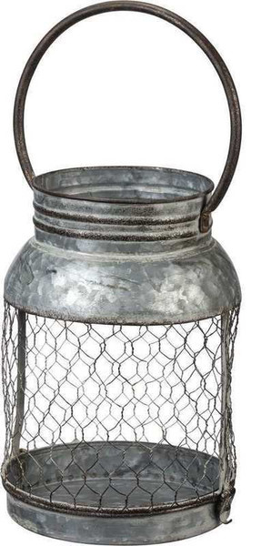 104108 Candle Holder - Large Lantern - Set Of 2 By Primitives by Kathy
