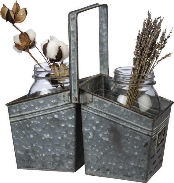 104114 Caddy - Double - Set Of 2 By Primitives by Kathy