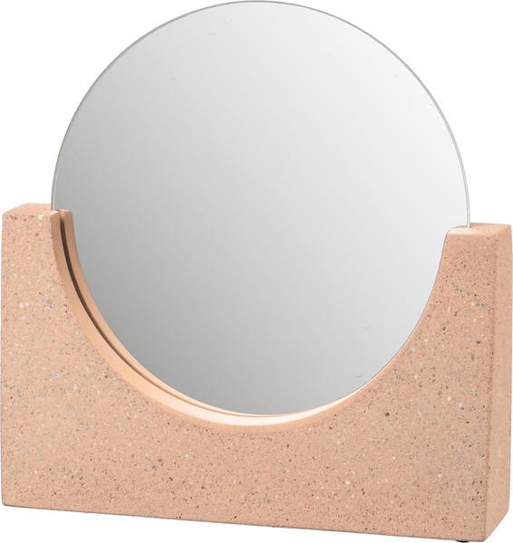 104231 Mirror - Concrete Base - Set Of 2 By Primitives by Kathy