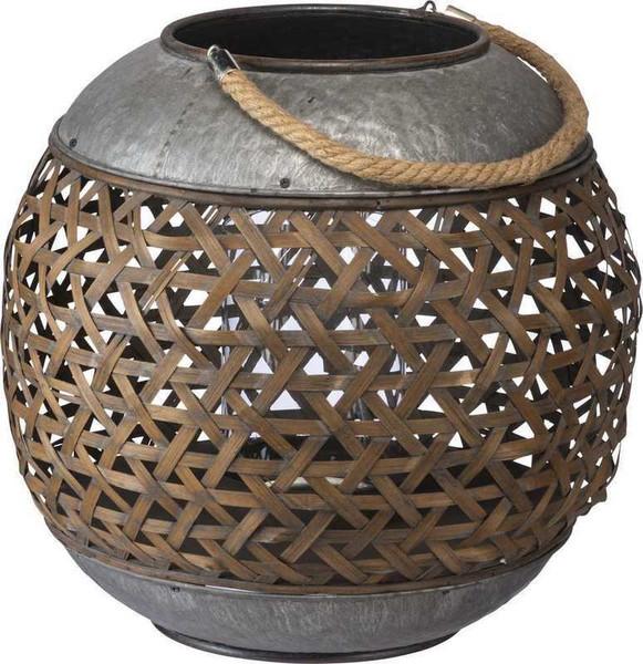 104344 Lantern - Basket Weave By Primitives by Kathy