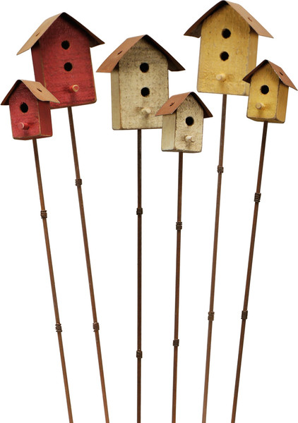 17723 Pick Set - Birdhouses - Set Of 4 By Primitives by Kathy