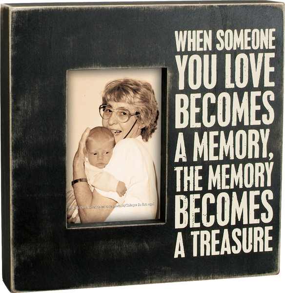 19143 Box Frame - A Memory - Set Of 2 By Primitives by Kathy