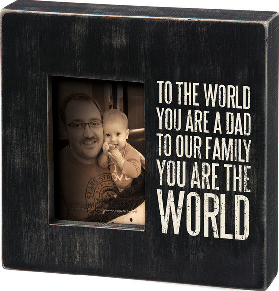 27212 Box Frame -You Are A Dad - Set Of 2 By Primitives by Kathy