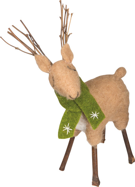 Smallall Deer - Set Of 2 (Pack Of 3) 28346 By Primitives By Kathy