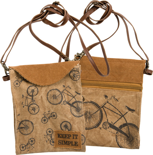 28954 Crossbody Bag - Keep It Simple - Set Of 2 By Primitives by Kathy