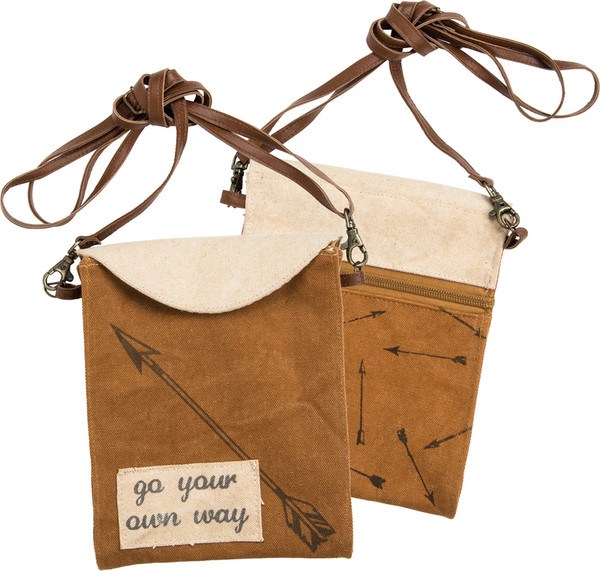 28956 Crossbody Bag - Your Own Way - Set Of 2 By Primitives by Kathy