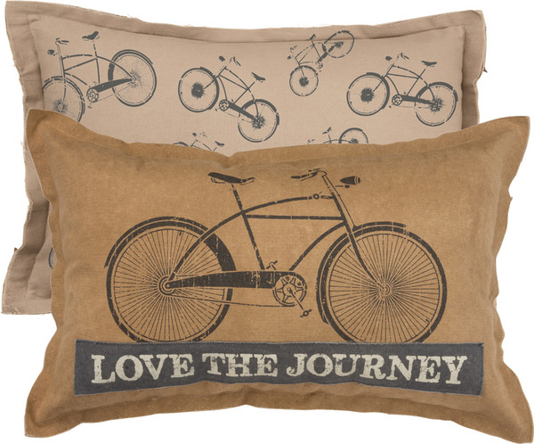 31515 Pillow - Journey - Set Of 2 By Primitives by Kathy