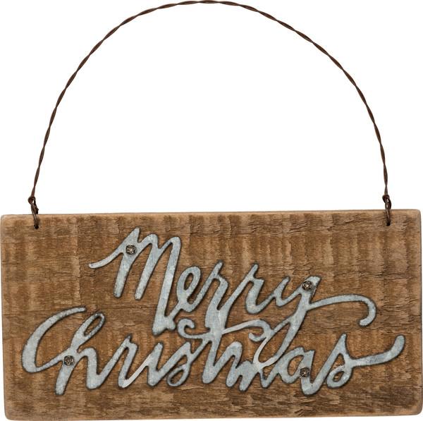 34866 Xmas Slat Ornament - Christmas - Set Of 12 By Primitives by Kathy