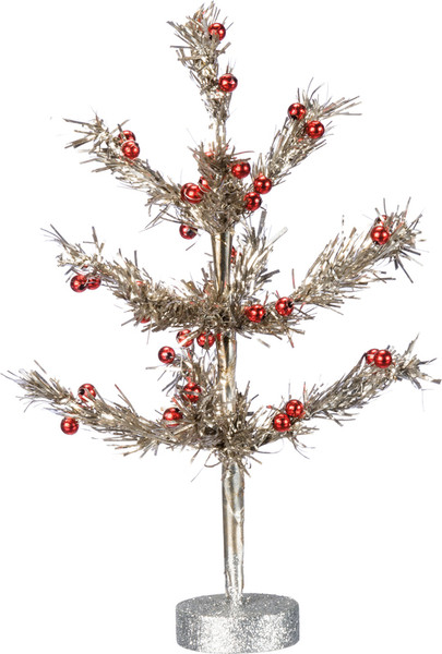 Tinsel Tree - Set Of 2 (Pack Of 2) 36135 By Primitives By Kathy