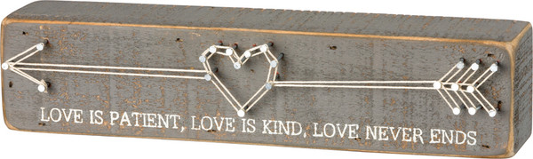 String Art - Love Is - Set Of 2 (Pack Of 3) 36329 By Primitives By Kathy
