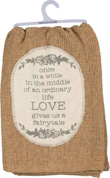Dish Towel - Love - Set Of 3 (Pack Of 2) 38101 By Primitives By Kathy