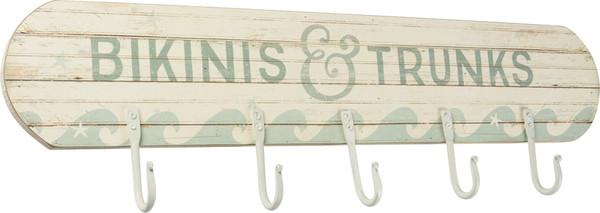 38435 Hook Board - Bikinis & Trunks - Set Of 2 By Primitives by Kathy