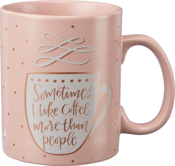 Mug - More Than People (Pack Of 4) 38774 By Primitives By Kathy