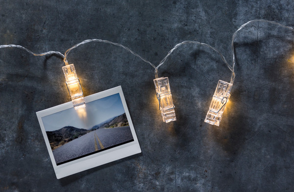 38799 String Lights - Photo Clips - Set Of 4 By Primitives by Kathy