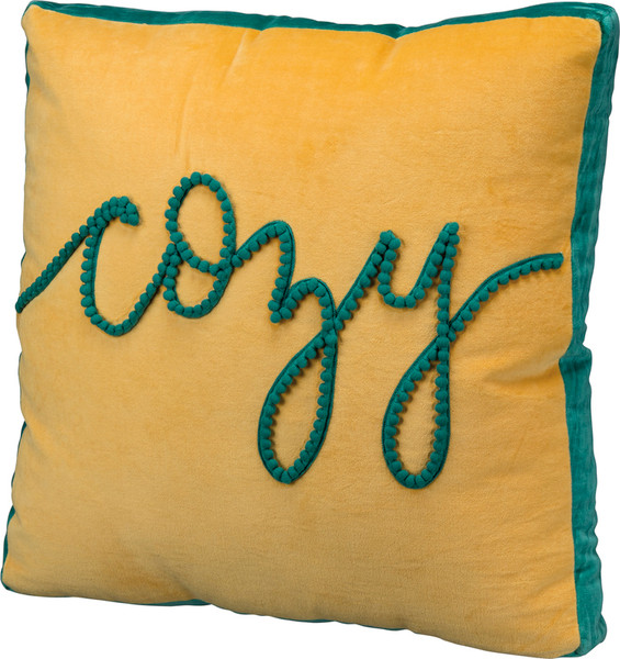 39114 Pillow - Cozy - Set Of 2 By Primitives by Kathy
