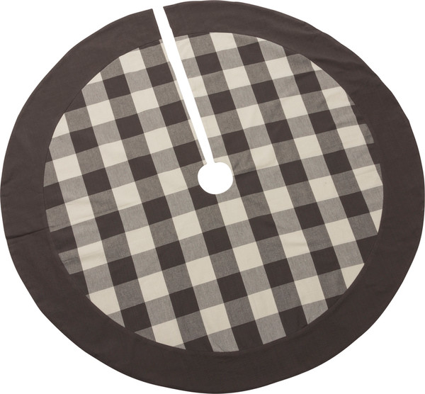 39781 Large Tree Skirt - Buffalo Check - Set Of 2 By Primitives by Kathy